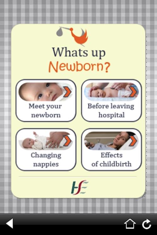 Whats Up Newborn