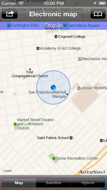 NC GPS Tracker - The footprints records Tracker