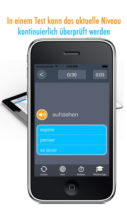 Learn German and French: Memorize Words - Free screenshot-4