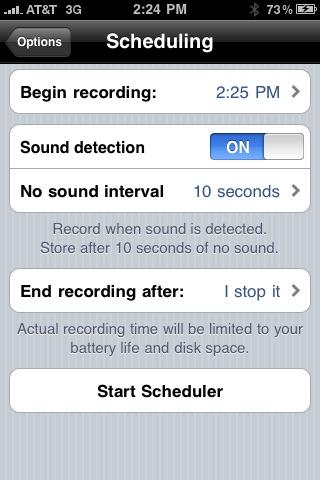 Top Secret Audio Recorder screenshot-3