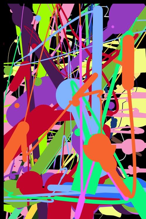 iPollock : Action Painting screenshot-3