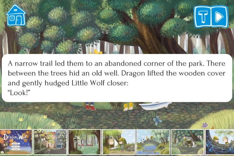 Dragon and Wolf - An Interactive Children`s Book screenshot-3