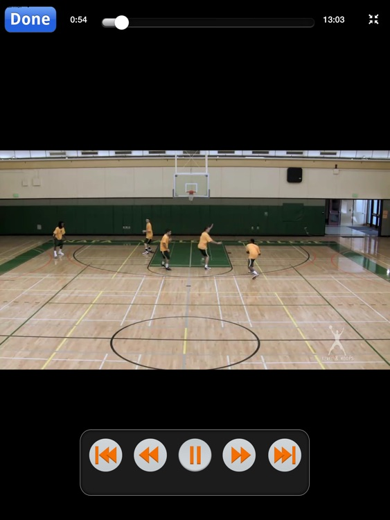 HORNS Offense: Powerful Scoring Plays Using The A-Set - With Coach Lason Perkins - Full Court Basketball Training Instruction - XL screenshot-4