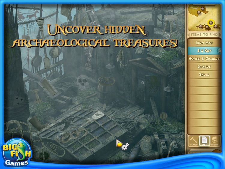Adventure Chronicles: The Search for Lost Treasure HD screenshot-4