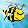 Wütende Wespe