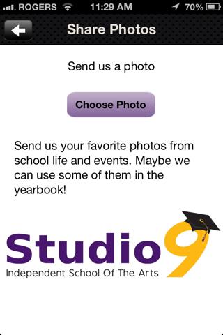 Studio 9 App screenshot two