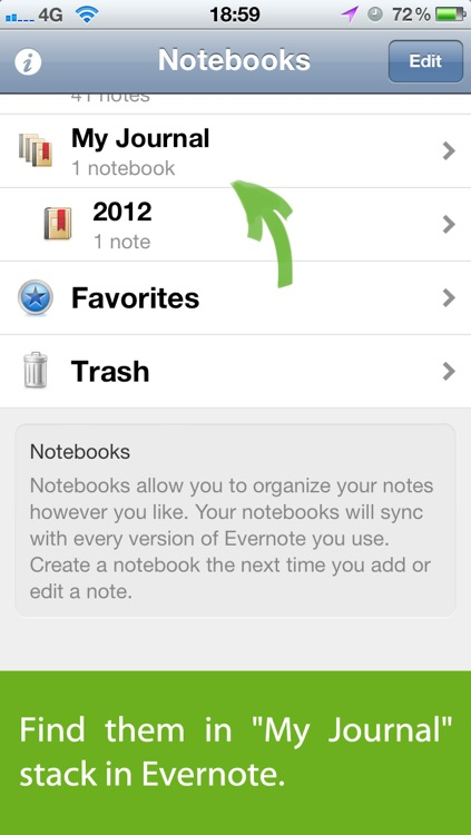 Journal for Evernote screenshot-4
