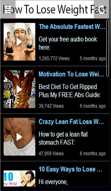 How To Lose Weight Fast - Learn How To Lose Weight Fast Now! screenshot-3