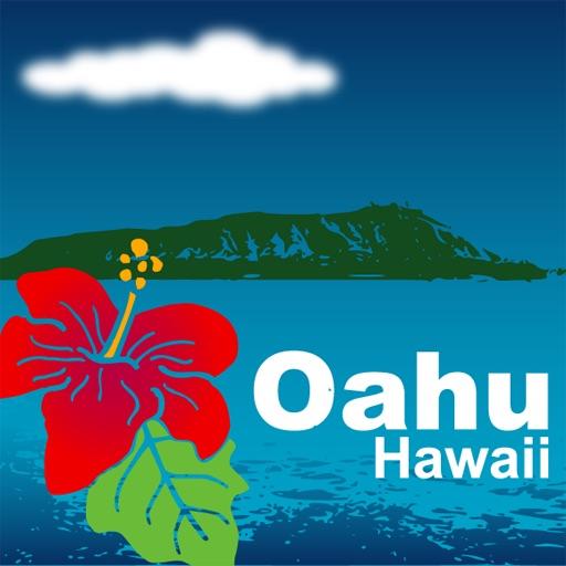 ハワイオアフ島観光マップ