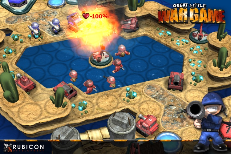 Great Little War Game HD screenshot-3