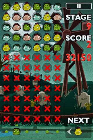 Zombie Blast Free Falling Bubble Shooter Puzzle Fun Game screenshot four