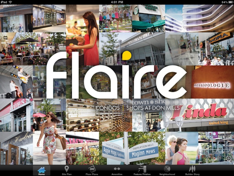 Flaire by Cadillac Fairview screenshot-0