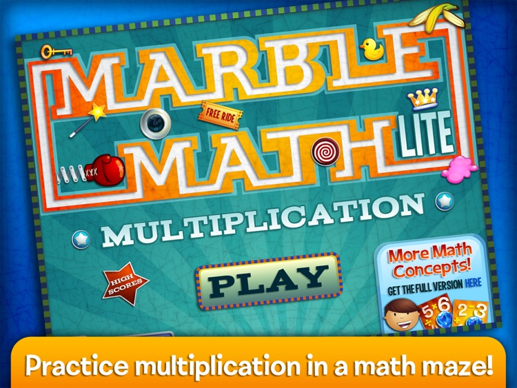 Marble Math Multiplication screenshot-0