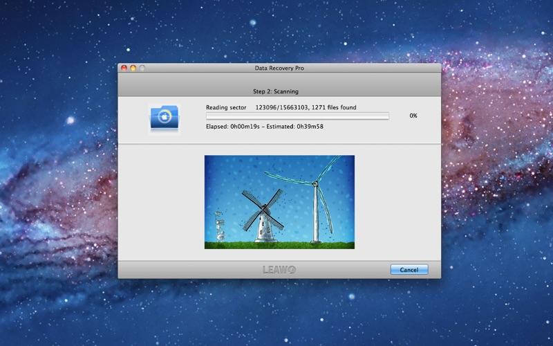 Data Recovery Pro Screenshot