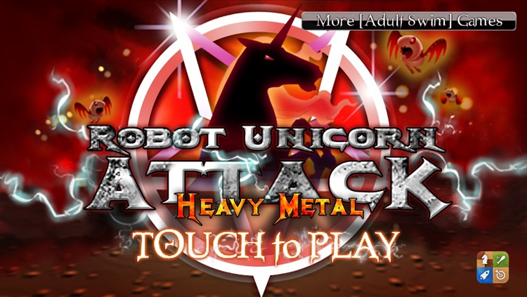 Robot Unicorn Attack Heavy Metal Edition