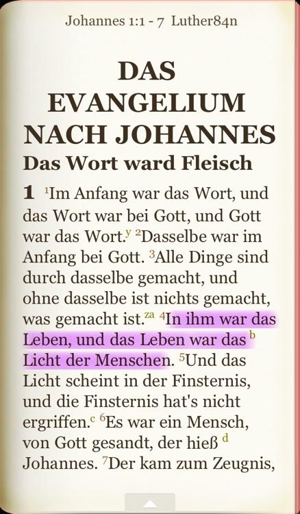 Die Bibel nach der Übersetzung Martin Luthers