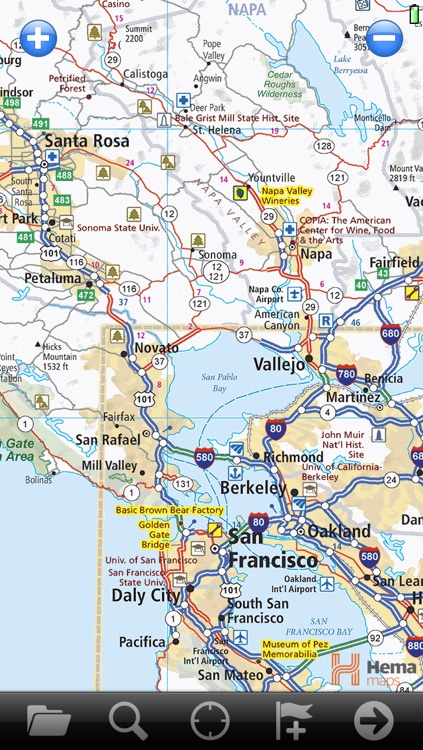 USA RoadAtlas  | United States Road Atlas with Offline GPS Navigation