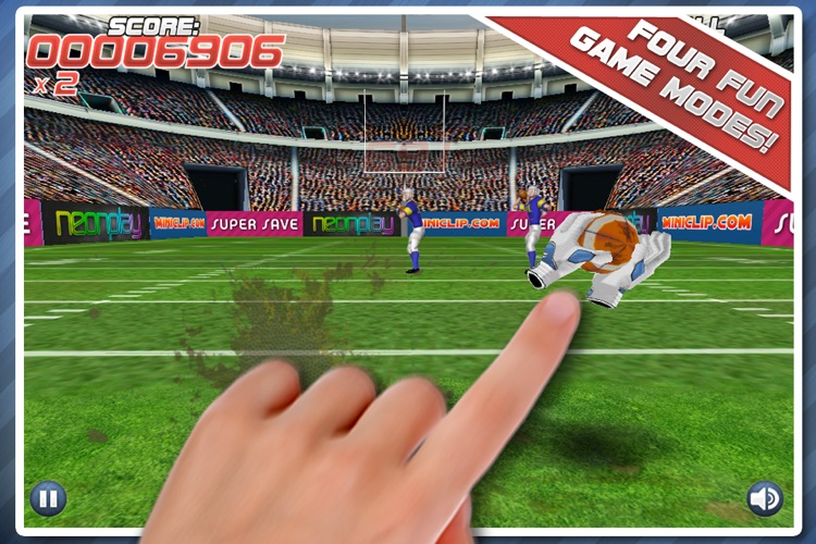 Pro Football Touchdown