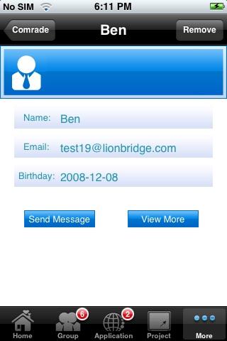 Screenshot of MoBridge Pro