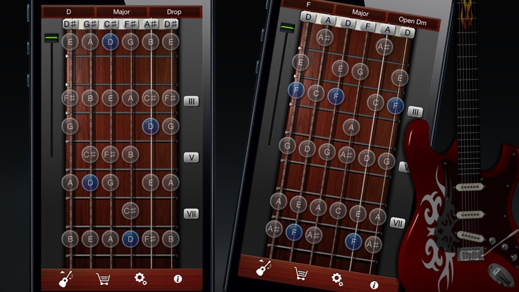 Guitar Suite Free - Metronome, Tuner, and Chords Library for Guitar, Bass, Ukulele screenshot-3
