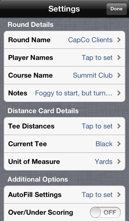 Birdies: Golf Scorecard screenshot-4