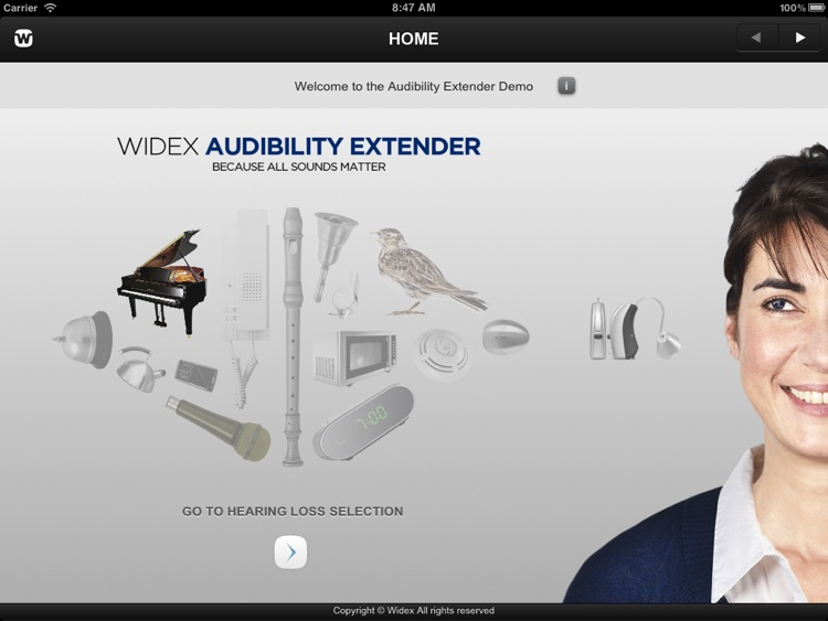 Widex Audibility Extender