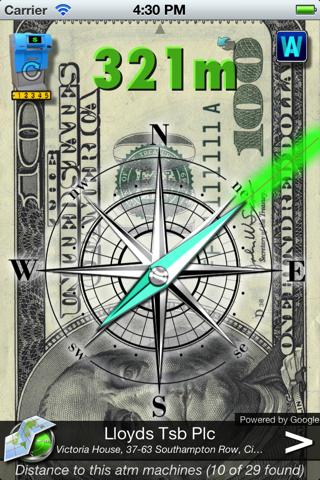 CASH Compass FREE screenshot two
