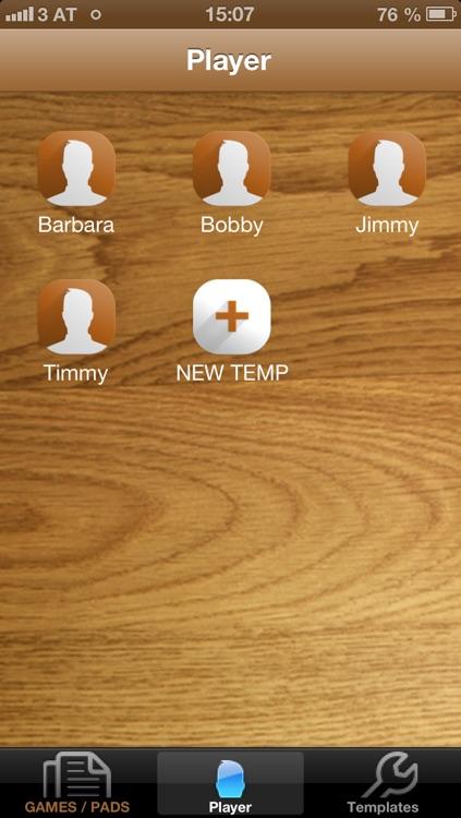 Scorepad Universal screenshot-3