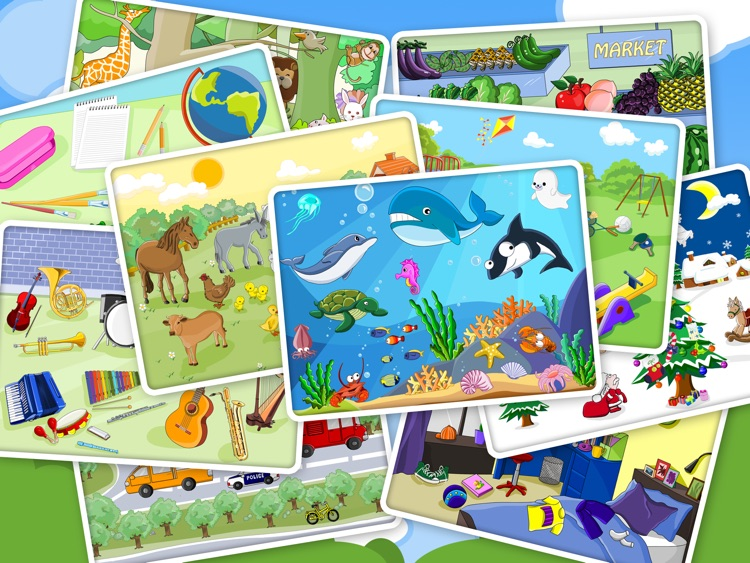 Shape Puzzle HD - Word Learning Game for Kids screenshot-4