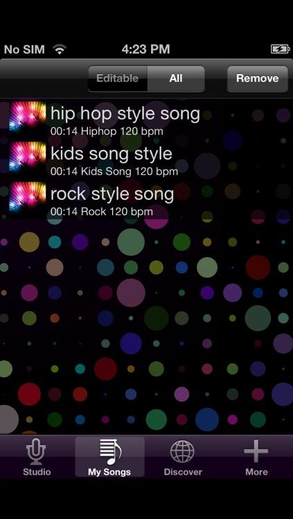 Just Singit !! Lite - Reverse Karaoke screenshot-3