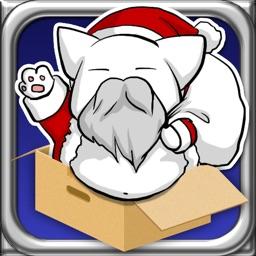 Flying Santa Cat