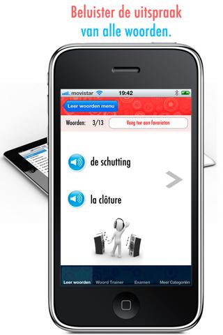 Frans Leren II: Verbeter je uitspraak en woordenschat - Gratis screenshot two