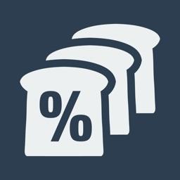 Bread %