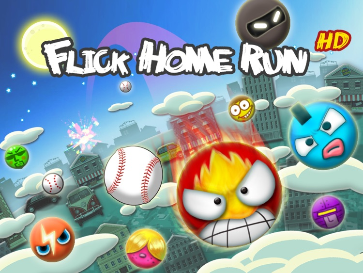 Flick Home Run ! HD screenshot-0