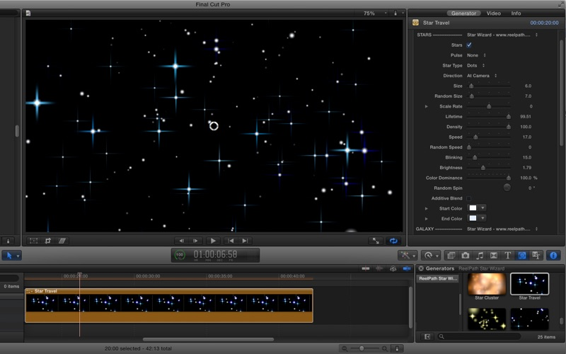 Star Wizard for Final Cut Pro | App Price Drops