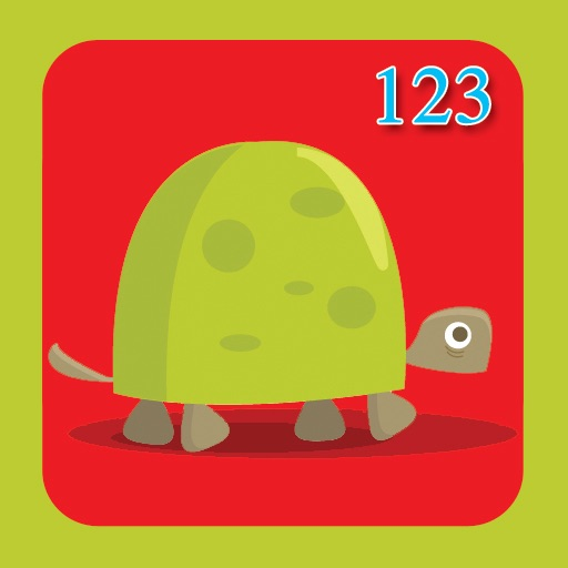 Number Flashcards 1-10 - Animals! icon