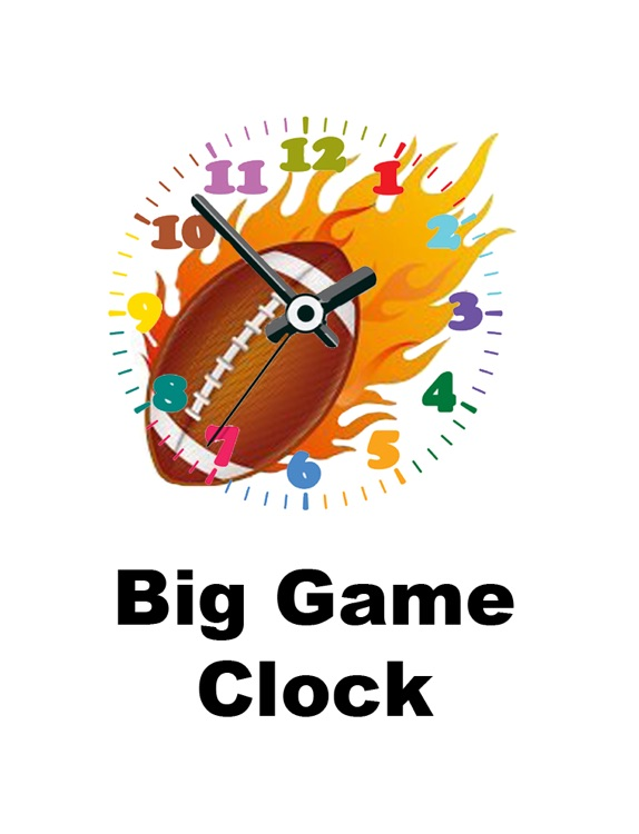 Big Game Clock for iPad
