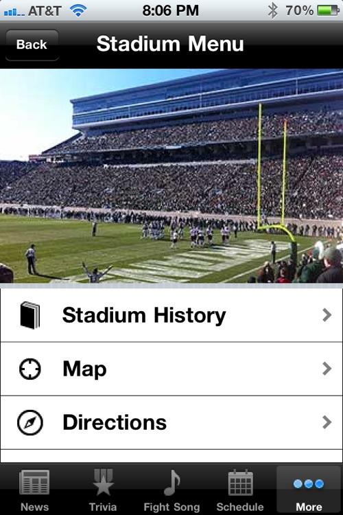 Michigan State Spartans Football screenshot-3