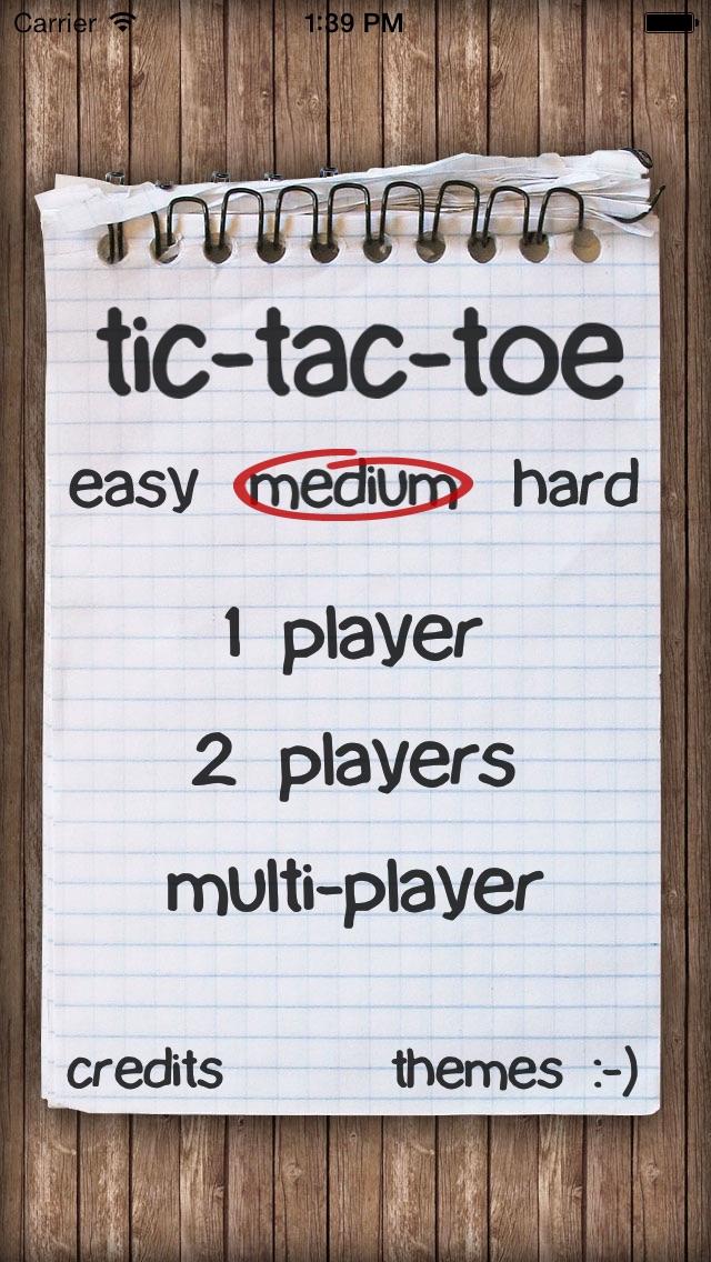 Download Tic-Tac-Toe Notepad App