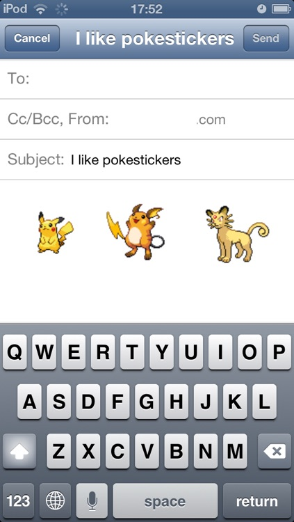 PokéStickers Pro: Pokémon Edition screenshot-3