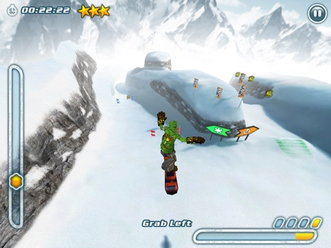 Screenshot #1 for Snowboard Hero