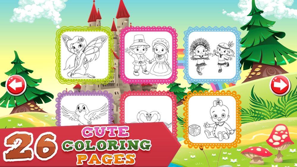 Coloring Pages for Girls - Fun Games for Kids hack tool