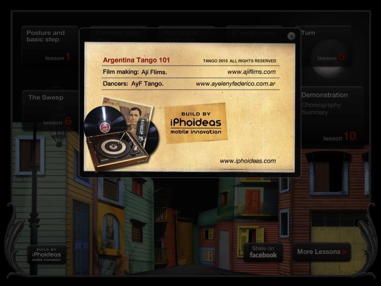 Argentine Tango Lessons 101 screenshot-4