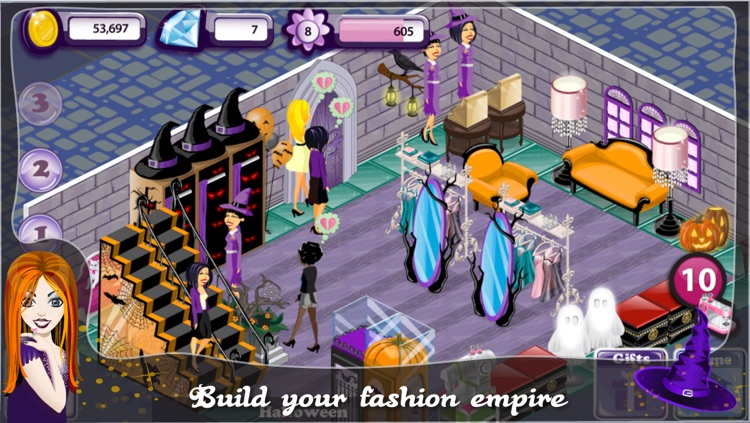 Fashion Design World - Halloween Edition screenshot-3
