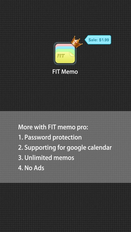 Memo Pro by FunInput(To-do,Voice Memo,Sync With Google' Calendar) screenshot-4