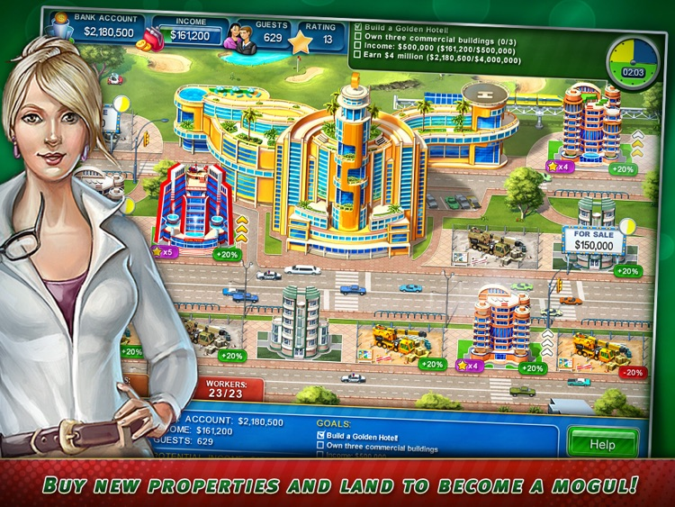 Hotel Mogul: Las Vegas HD screenshot-2