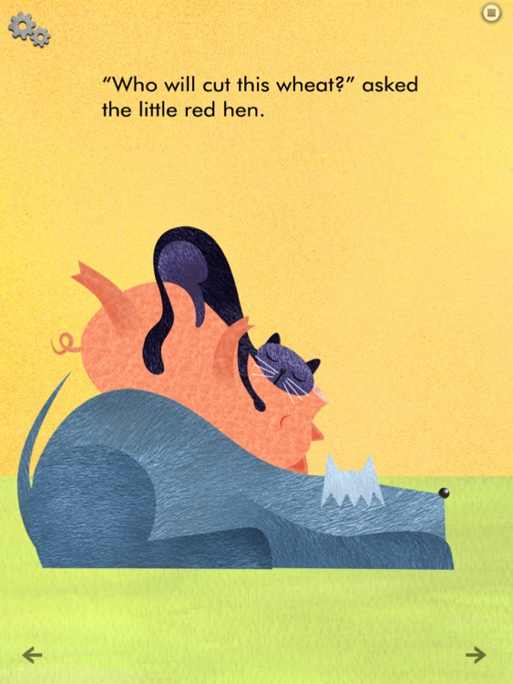 Little Red Hen - Interactive Reader screenshot-3