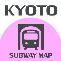 ekipedia Subway Map Kyoto (Subway Guide)