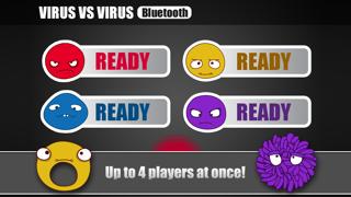 Virus Vs. Virus Bluetooth(multiplayer versus game collection) screenshot two