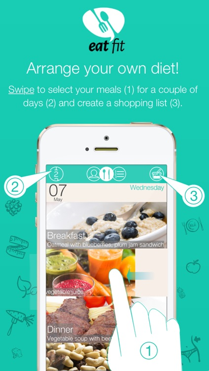 Eat Fit - Diet and Health screenshot-1
